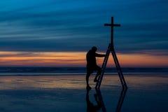 Βήμα της πίστης Στοκ Εικόνες