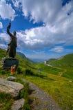 Βήμα του μικρού ST Bernard Στοκ Εικόνα