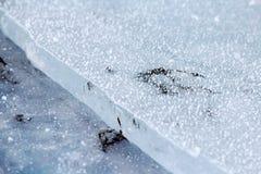 Βήμα του πάγου ποταμών Στοκ φωτογραφία με δικαίωμα ελεύθερης χρήσης