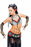 βήμα χορού φυλετικό στοκ εικόνα με δικαίωμα ελεύθερης χρήσης