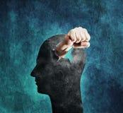 Βίαιο μυαλό Στοκ εικόνες με δικαίωμα ελεύθερης χρήσης