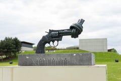 βία αγαλμάτων μη πιστολιών Στοκ φωτογραφία με δικαίωμα ελεύθερης χρήσης
