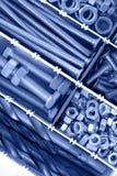 βίδες καρυδιών μπουλον&iot Στοκ Εικόνες