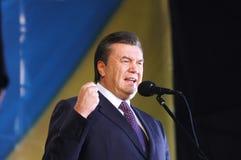 Βίκτωρ yanukovych στοκ εικόνα
