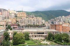 Βίλα del Πρίντσιπε στη Γένοβα, Ιταλία στοκ φωτογραφίες
