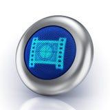 βίντεο έννοιας κουμπιών Στοκ φωτογραφία με δικαίωμα ελεύθερης χρήσης