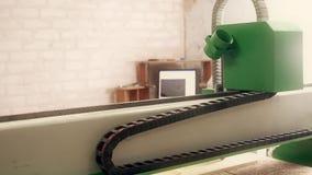 Βίντεο βίντεο εξοπλισμού άλεσης εργασίας του ξύλινου φιλμ μικρού μήκους