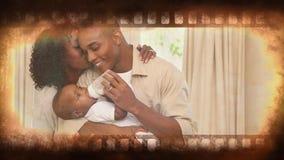 Βίντεο λουρίδων ταινιών απόθεμα βίντεο