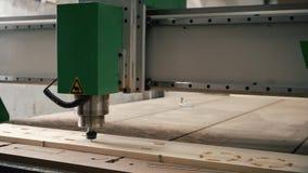 Βίντεο μηχανημάτων άλεσης εργασίας ξύλινο απόθεμα βίντεο
