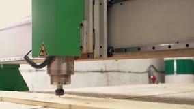 Βίντεο μηχανών άλεσης εργασίας ξύλινο απόθεμα βίντεο