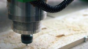 Βίντεο συσκευών άλεσης εργασίας ξύλινο απόθεμα βίντεο