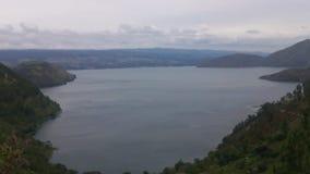 Βίντεο της λίμνης Toba, ο Βορράς Sumatra, Ινδονησία. απόθεμα βίντεο
