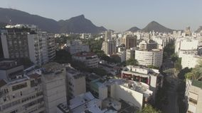 Βίντεο του κτηρίου της μεγάλης πόλης απόθεμα βίντεο
