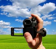 βίντεο φωτογραφικών μηχανώ Στοκ φωτογραφία με δικαίωμα ελεύθερης χρήσης