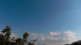 Βίντεο Timelapse του ουρανού απόθεμα βίντεο