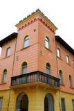 Βίλα με τον πυργίσκο σε Marostica στο Βιτσέντσα στο Βένετο (Ιταλία) Στοκ Εικόνα