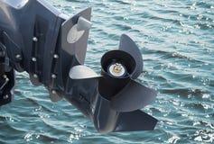 Βίδα της βάρκας μηχανών Στοκ Εικόνες