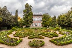 Βίλα Angiolina και πάρκο - Opatija, Κροατία στοκ φωτογραφίες με δικαίωμα ελεύθερης χρήσης