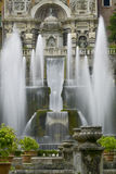 Βίλα δ este στο tivoli, Ιταλία, Ευρώπη στοκ φωτογραφία με δικαίωμα ελεύθερης χρήσης