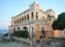 Βίλα Sticchi σε Santa Cesarea Terme, επαρχία Lecce, Apulia, Στοκ Εικόνες