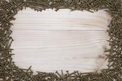 Βίδες υποβάθρου πλαισίων Στοκ φωτογραφία με δικαίωμα ελεύθερης χρήσης