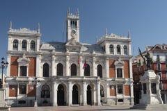 Βαγιαδολίδ Καστίλλη Υ Leon, Ισπανία: Δήμαρχος Plaza Στοκ φωτογραφίες με δικαίωμα ελεύθερης χρήσης