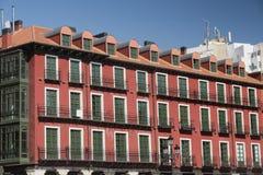 Βαγιαδολίδ Καστίλλη Υ Leon, Ισπανία: Δήμαρχος Plaza Στοκ εικόνα με δικαίωμα ελεύθερης χρήσης