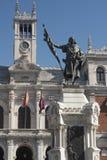Βαγιαδολίδ Καστίλλη Υ Leon, Ισπανία: Δήμαρχος Plaza Στοκ Εικόνα