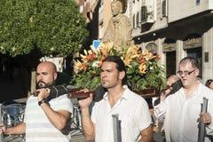 Βαγιαδολίδ Καστίλλη Υ Leon, Ισπανία: πομπή του Σαντιάγο Στοκ φωτογραφίες με δικαίωμα ελεύθερης χρήσης