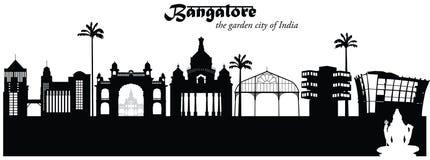 Βαγκαλόρη Ινδία απεικόνιση αποθεμάτων