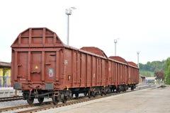 Βαγόνια εμπορευμάτων φορτίου στοκ φωτογραφίες με δικαίωμα ελεύθερης χρήσης