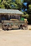 Βαγόνι εμπορευμάτων, αντίκα έρημος στη βασίλισσα Creek, Αριζόνα, Ηνωμένες Πολιτείες Στοκ Εικόνες