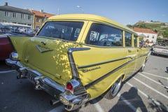 1957 βαγόνι εμπορευμάτων σταθμών αστών Chevrolet Bel Air Στοκ Εικόνες