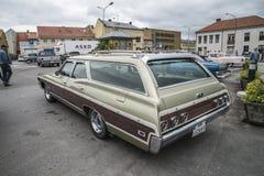 1968 βαγόνι εμπορευμάτων σταθμών ιδιοτροπίας Chevrolet Στοκ Εικόνα