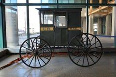 1896 βαγόνι εμπορευμάτων ταχυδρομείου Στοκ εικόνα με δικαίωμα ελεύθερης χρήσης