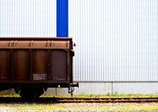 βαγόνι εμπορευμάτων τραίν&omeg Στοκ εικόνες με δικαίωμα ελεύθερης χρήσης