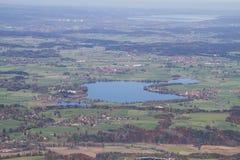 Βαθιά άποψη της λίμνης Rieg στοκ εικόνες με δικαίωμα ελεύθερης χρήσης