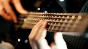 Βαθιά άσκηση κιθαριστών απόθεμα βίντεο