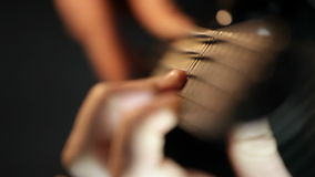 Βαθιά άσκηση κιθαριστών φιλμ μικρού μήκους