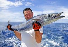 βαθιά θάλασσα αλιείας στοκ εικόνες με δικαίωμα ελεύθερης χρήσης
