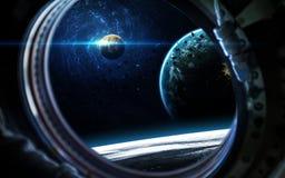 Βαθιά διαστημική τέχνη Τρομερός για την ταπετσαρία και την τυπωμένη ύλη Στοιχεία αυτής της εικόνας που εφοδιάζεται από τη NASA Στοκ εικόνα με δικαίωμα ελεύθερης χρήσης