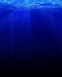 Βαθιά μπλε υποβρύχιος Στοκ Εικόνες