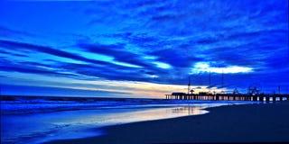 Βαθιά μπλε Στοκ φωτογραφία με δικαίωμα ελεύθερης χρήσης