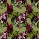 Βαθιά - πράσινο σχέδιο Στοκ Εικόνα