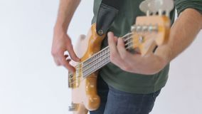 Βαθιοί χοροί κιθαριστών στη μουσική απόθεμα βίντεο