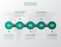 Βαθμιαία infographic Στοκ Εικόνες