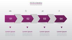 Βαθμιαία infographic Στοκ εικόνα με δικαίωμα ελεύθερης χρήσης