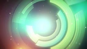 Βαθμολογημένες καμπύλες Περιστρεφόμενοι πορφυροί κύκλοι απεικόνιση αποθεμάτων