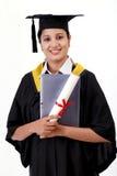Βαθμολογημένος θηλυκό σπουδαστής που χρησιμοποιεί έναν υπολογιστή ταμπλετών στοκ φωτογραφία με δικαίωμα ελεύθερης χρήσης