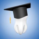 Βαθμολόγηση ακαδημαϊκή ΚΑΠ με το άσπρο δόντι Στοκ φωτογραφίες με δικαίωμα ελεύθερης χρήσης